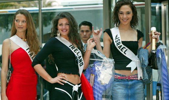 Галь на конкурсе «Мисс Вселенная»