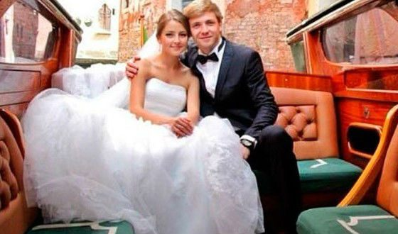 Свадьба Анны Михайловской и Тимофея Каратаева прошла в августе 2013