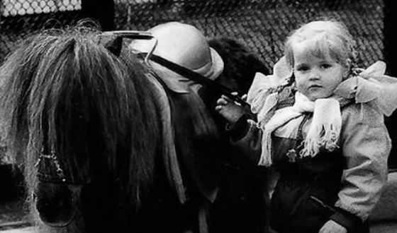 Детское фото Анны Михайловской