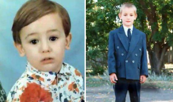 Детские фото Риналя Мухаметова