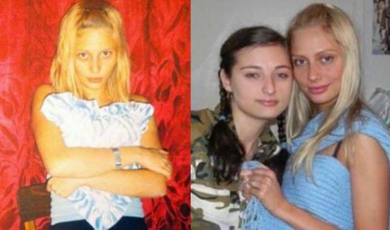 Наталья Рудова в молодости