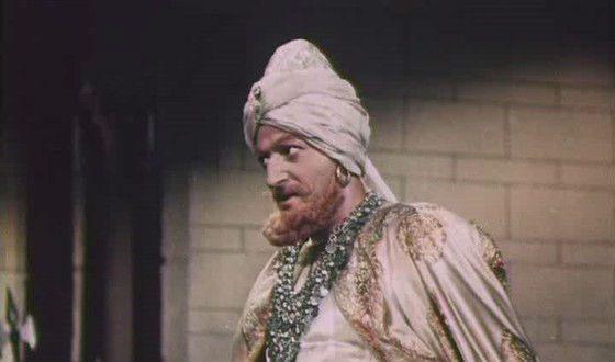 Первая роль Владимира Этуша в кино («Адмирал Ушаков», 1953)