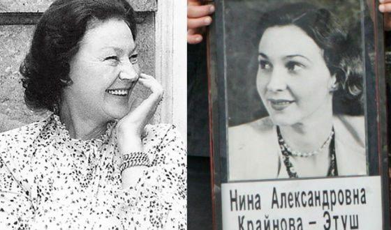 Нина Крайнова, главная женщина в жизни Владимира Этуша