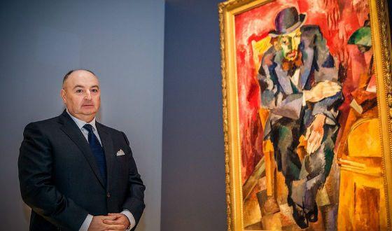 Открытие выставки музея искусства авангарда, декабрь 2013