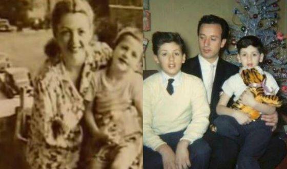 Сталлоне с родителями