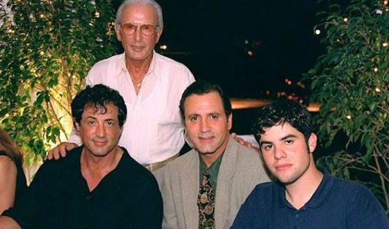 Мужчины семьи Сталлоне: Сильвестр, его брат, старший сын и отец