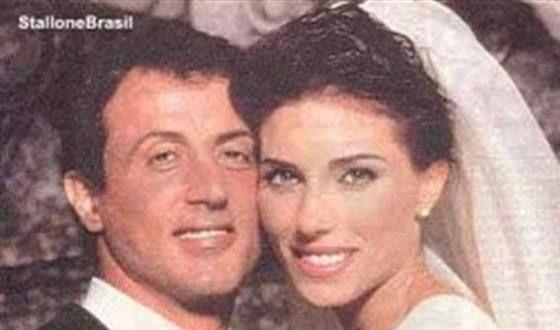 Свадьба Сталлоне и Дженнифер Флавии