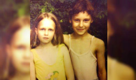 Ирина Горбачева и ее брат-двойняшка Игорь