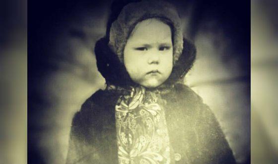 Детское фото Ирины Горбачевой