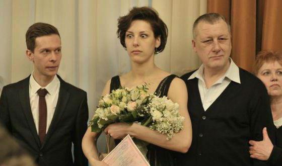 На свадьбу Ирина Горбачева надела черное платье