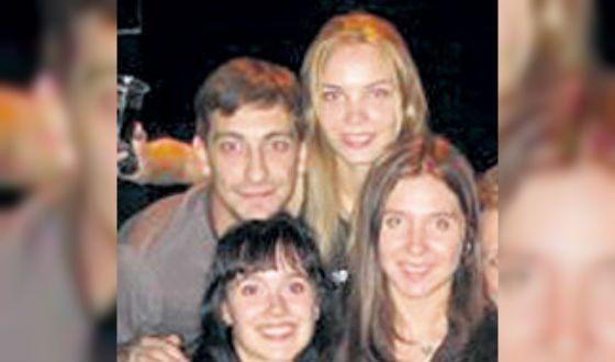 С сестрами Арнтгольц (встреча выпускников «Щепки», 2007 год)
