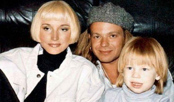 Маленький Никита Пресняков с родителями