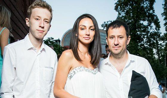 Семен Трескунов с родителями, Мариной и Алексеем Трескуновыми