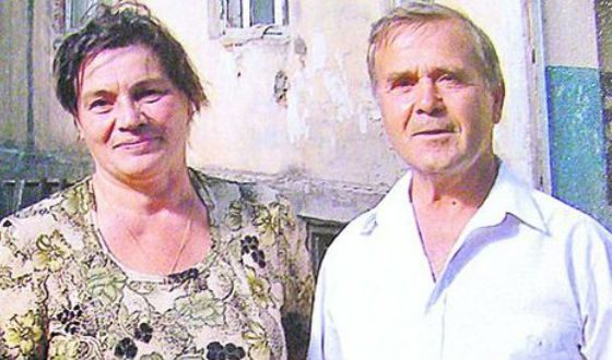 На фото: родители Петра Порошенко