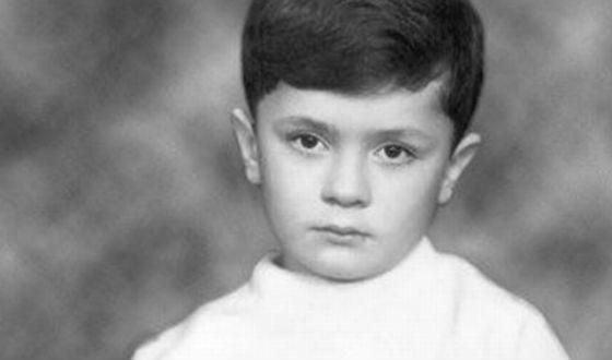 Петр Порошенко в детстве