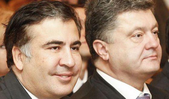 Порошенко и Саакашвили знакомы со студенческой поры
