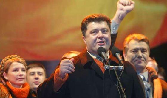 В 1998 году Порошенко получил депутатский мандат