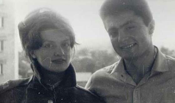 Молодой Петр Порошенко с супругой Мариной