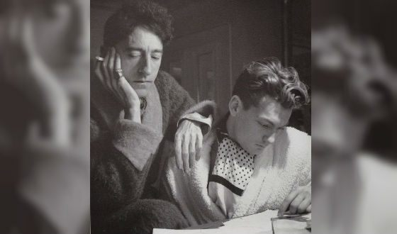 На фото: Жан Маре и Жан Кокто