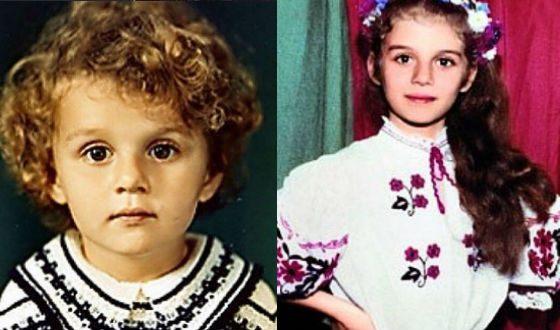Детские фото Анны Седоковой