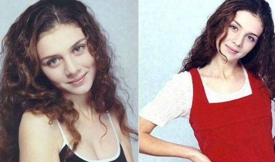 Молодая Анна Седокова