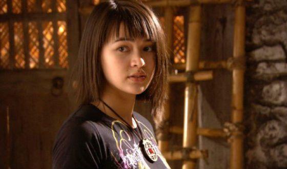 Юная Джессика Хенвик в сериале «Spirit Warriosr»