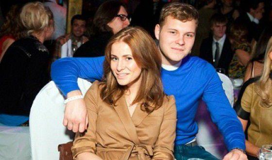 Сергей Бондарчук-младший с женой Татой Мамиашвили