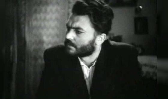 Первая роль Сергея Бондарчука («Молодая гвардия», Валько)