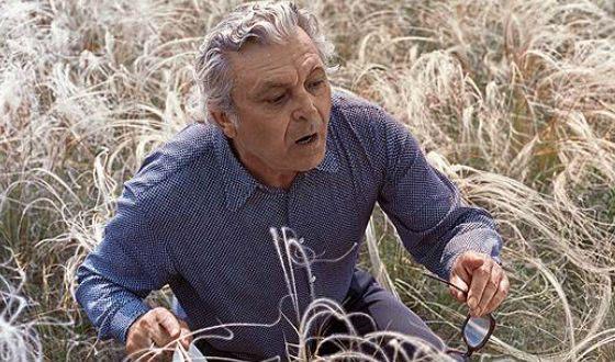 Сергей Бондарчук на съемках фильма «Степь»