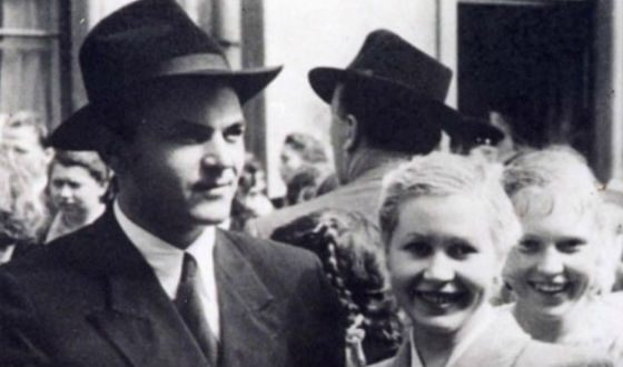 Актер и его вторая жена Инна