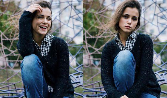 Мила Сивацкая начинала карьеру в качестве модели