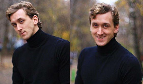 Данила Якушев – еще без бороды