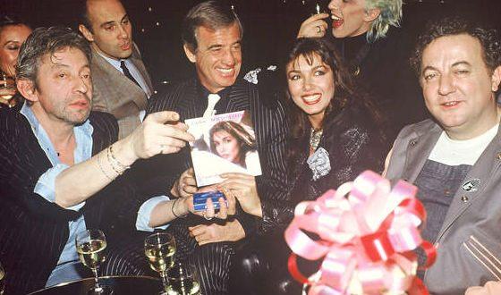 С Марией Соттомайор и Сержем Гинсбургом (1985 год)