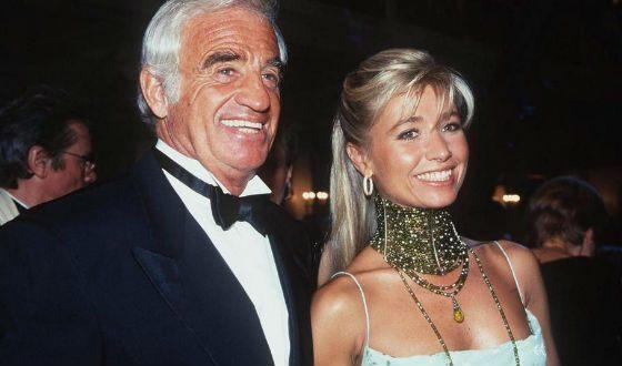 Бельмондо и Натали познакомились в 1985 а поженились в 2002