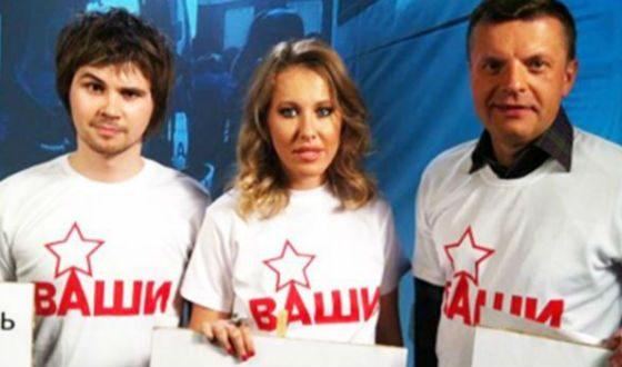 В 2012 Обломов записал трек с Собчак и Парфеновым