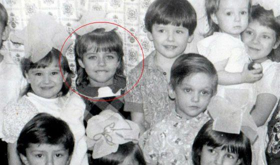 Евения Лапова в детстве