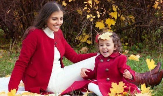 Евгения Лапова и ее дочка Ева