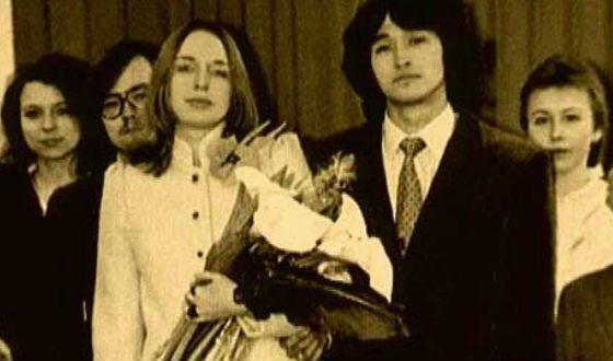 Свадьба Виктора Цоя и Марьяны Родованской