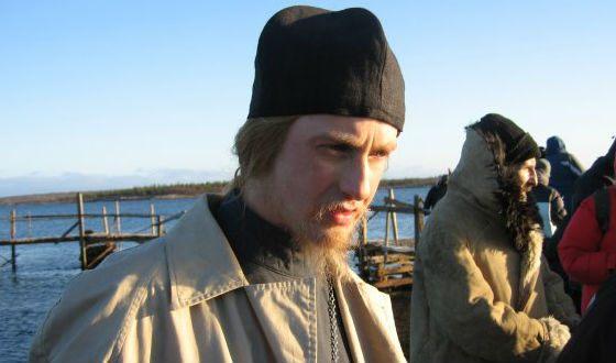 Никита Тарасов на съемках «Острова»