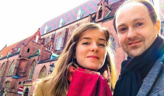 Никита Тарасов и его жена Марина
