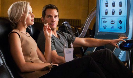 Кадр из фильма «Пассажиры»