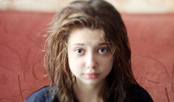 Елена Шейдлина без макияжа
