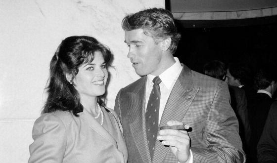 На фото: Арнольд Шварценеггер и его жена Мария Шрайвер