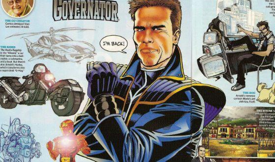 Стэн Ли из Marvel хотел сделать комикс про Шварценеггера – The Governator