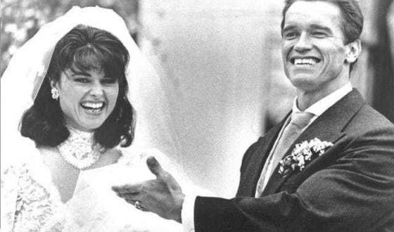 Свадьба Шварценеггера и Шрайвер