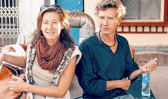 На фото: Александр Яценко и его жена Марина