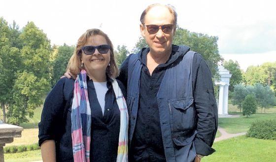Юрий Ицков с женой Надеждой Живодеровой