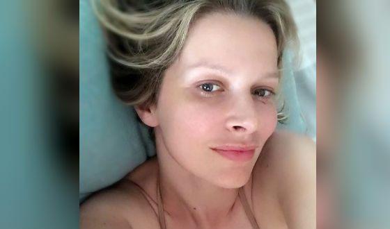 Александра Флоринская без макияжа