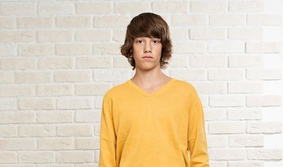 Алексей Лукин начал сниматься в 13 лет