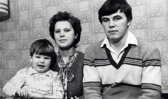 Андрей Аршавин с родителями